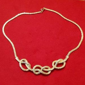 Vintage Park Lane Knot necklace